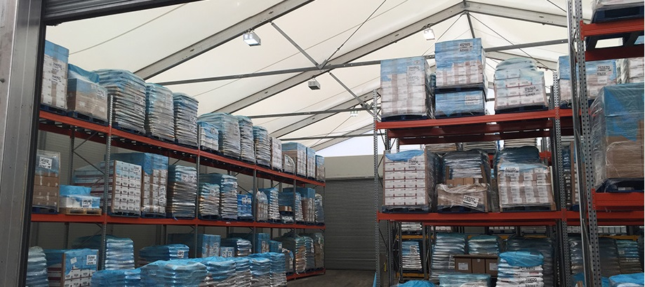 Temporary warehousing, the choices
