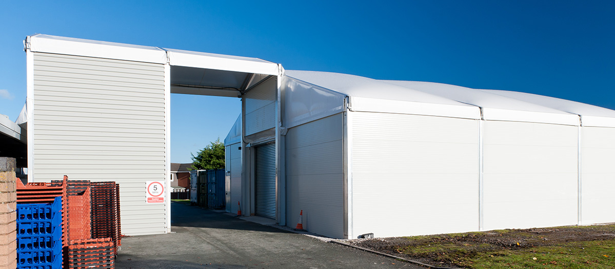 Temporary structures link up for success