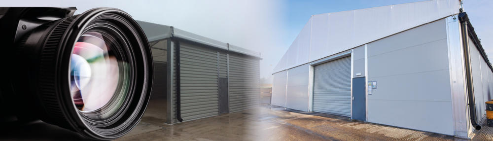 Photo call for temporary warehouses