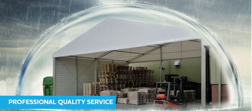 Are your loading bays fed up with the British weather?