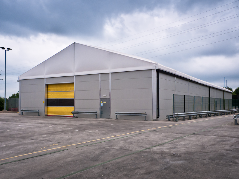 Fastest industrial building on the block?