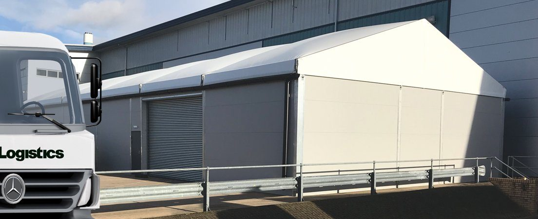Used temporary industrial building reduces cost of expansion