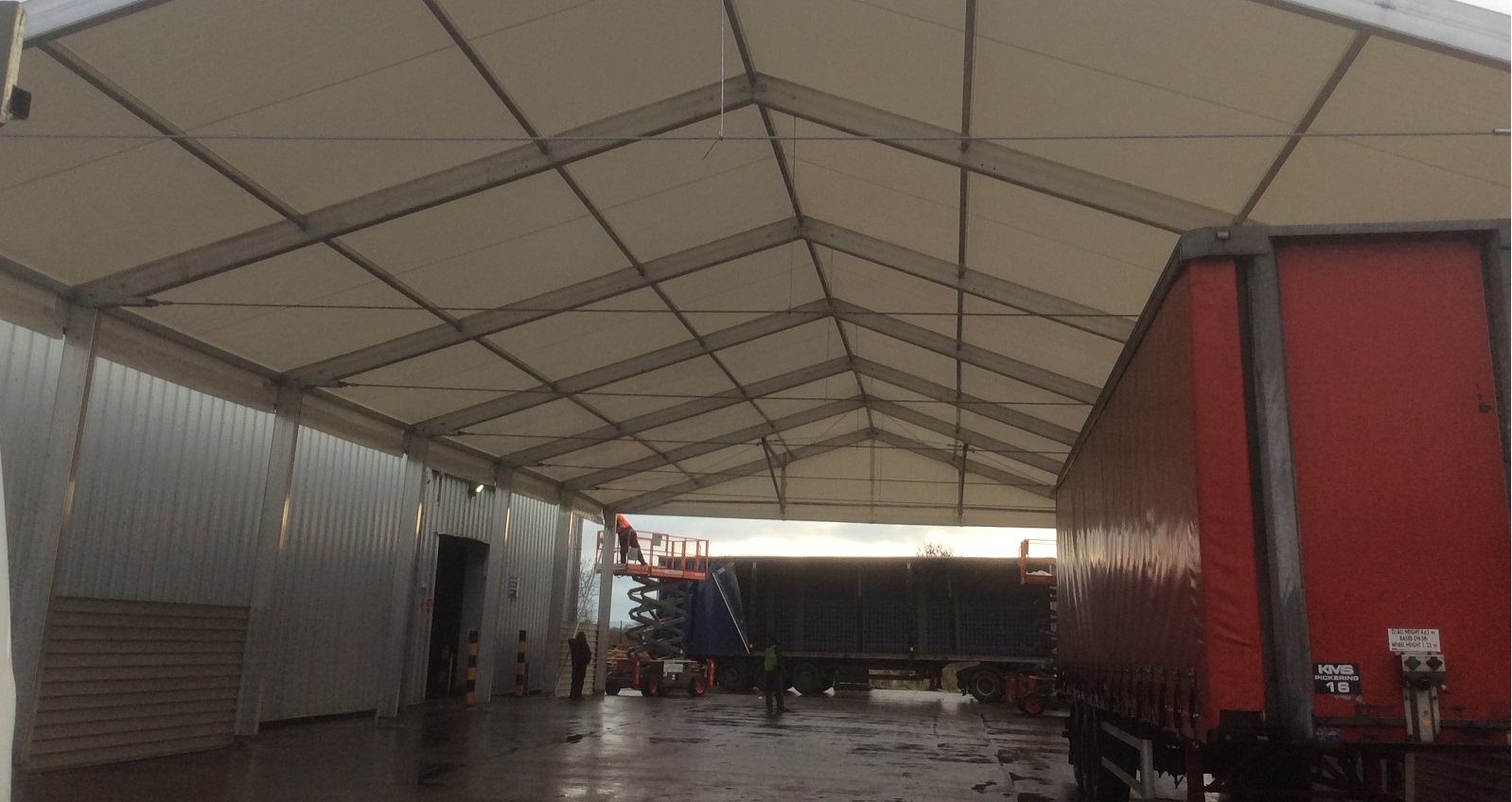 Industrial Canopy Shelter