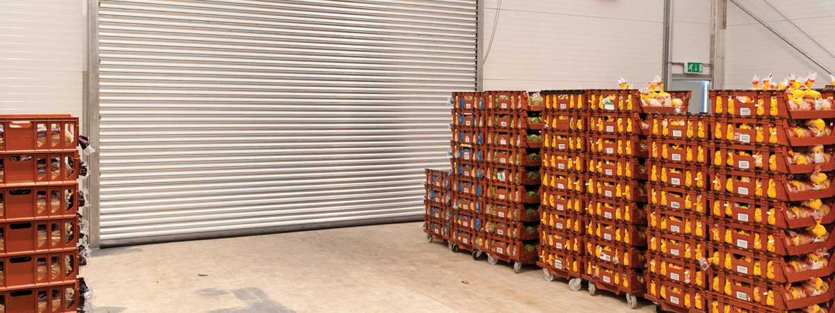Temporary buildings in food processing and handling facilities