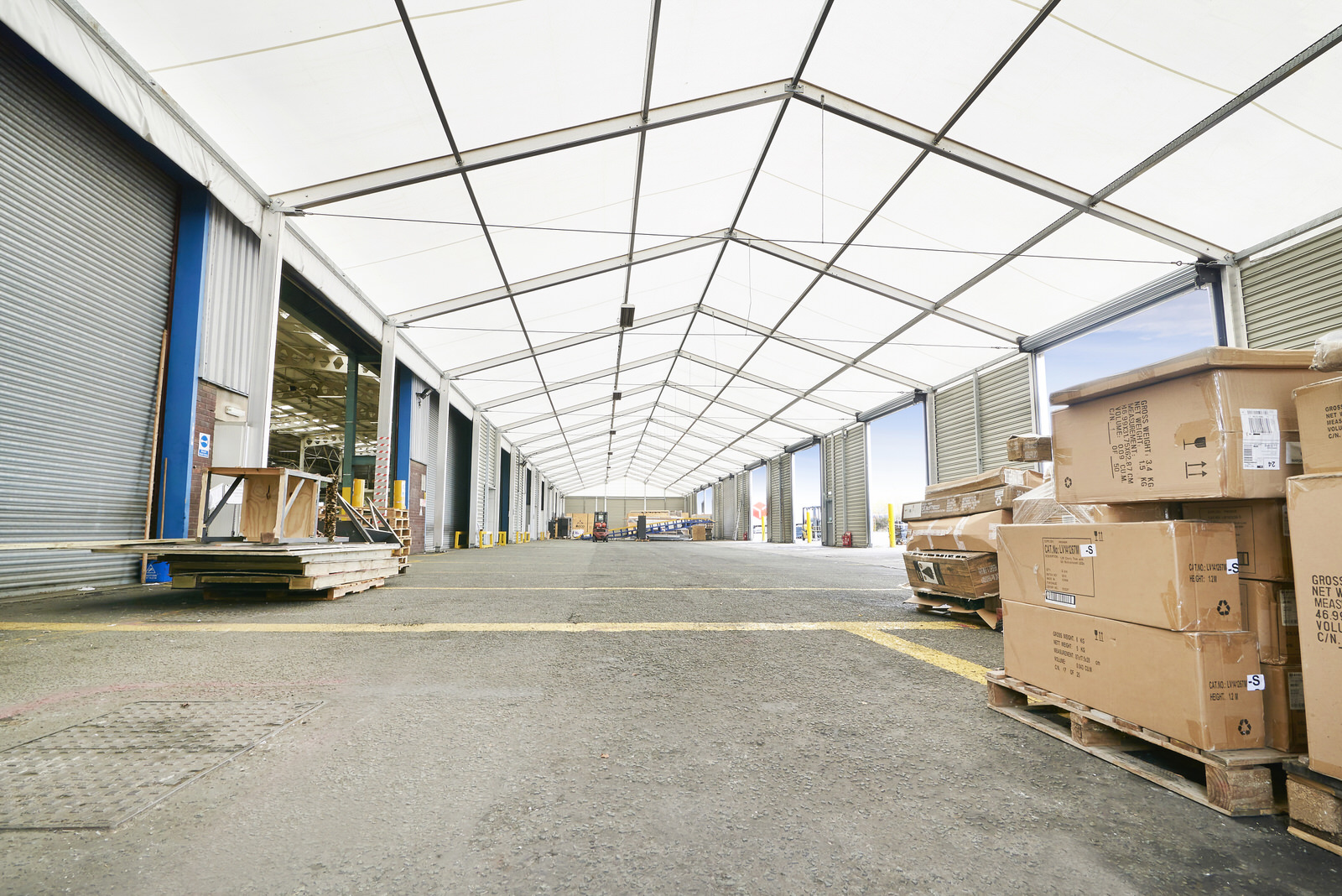 What is an industrial marquee?