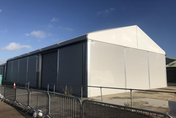rolls royce temporary building
