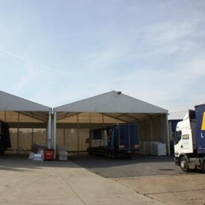 Pace Logistics loading canopies